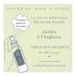 Brume JardinAnglaiseOfferte