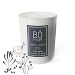 Bougie végétale parfumée Jardin à l'anglaise Bôrivage