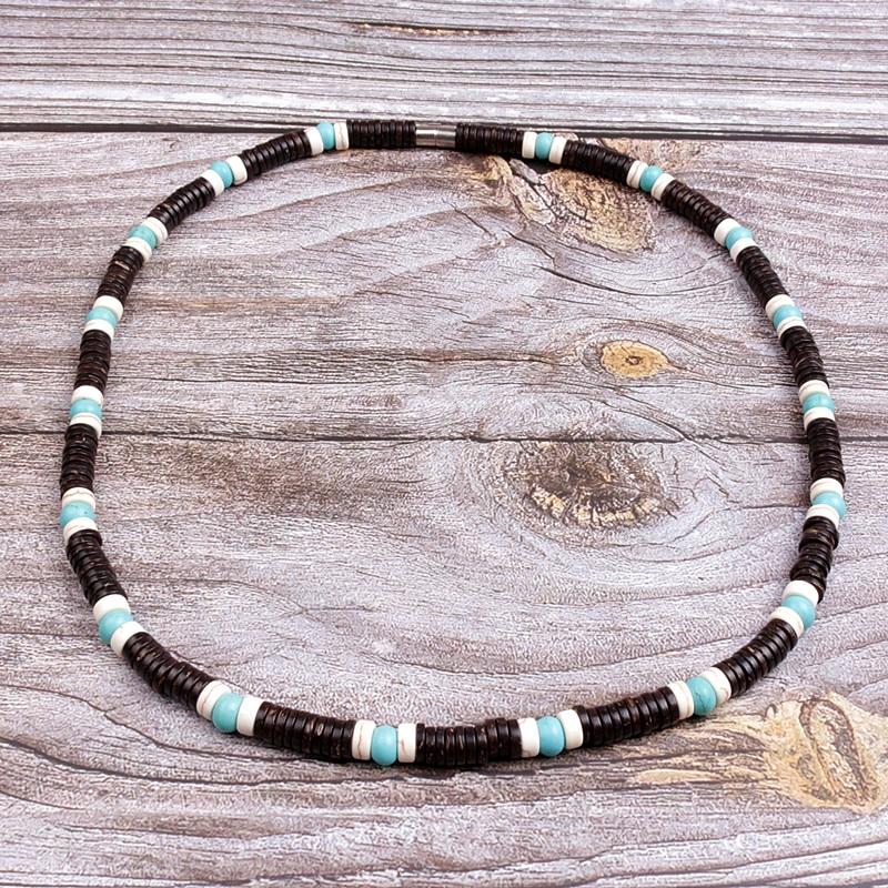 Mode-naturel-noix-de-coco-coquille-entretoise-perles-surfeur-collier-pour-hommes-tribal-bijoux-cha-ne