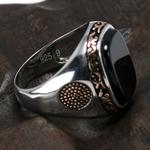 Vrais-hommes-purs-anneaux-argent-s925-r-tro-Vintage-turc-anneaux-pour-hommes-avec-des-pierres
