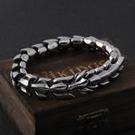 Viking-Ouroboros-vintage-punk-bracelet-pour-hommes-acier-inoxydable-mode-bijoux-hippop-rue-culture