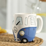 Creative-Hand-Painting-Double-Bus-Mug-Cartoon-Ceramic-Milk-Tea-Water-Coffee-Mugs-Home-Office-School