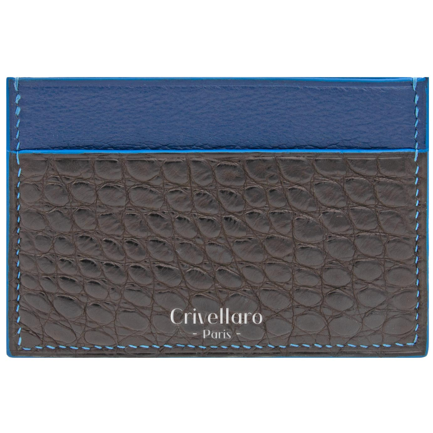 Card holder Croco