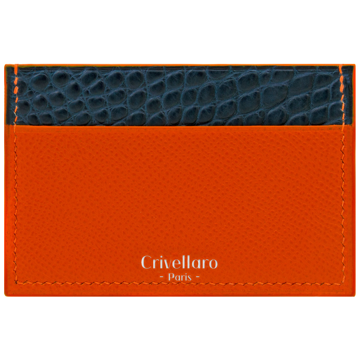 Porte-cartes SLIM Mi-croco