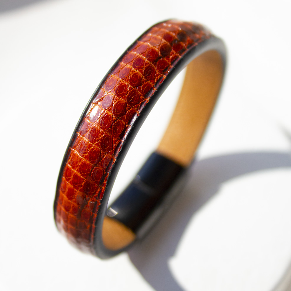 Brown Lizard Bracelet