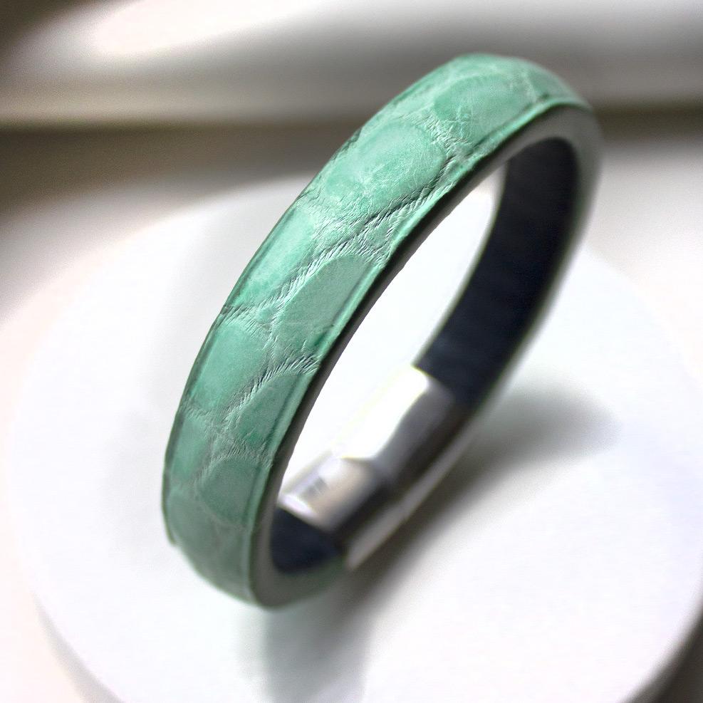 Turquoise Croco Bracelet
