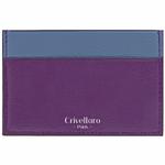 Crivellaro-portes-cartes-SLIM-Violet-Bleu-2