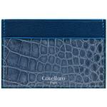 Crivellaro-portes-cartes-SLIM-Croco-Bleu-Jean-Bleu-1