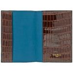 Crivellaro-Porte-passeport-croco-marron-bleu-1