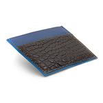 Crivellaro-portes-cartes-SLIM-Croco-Noir-bleu-2