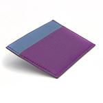 Crivellaro-portes-cartes-SLIM-Violet-Bleu-1