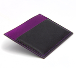 Crivellaro-portes-cartes-SLIM-Noir-Violet-2