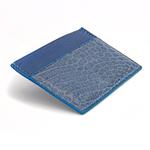 Crivellaro-portes-cartes-SLIM-Croco-Bleu-Jean-Bleu-2