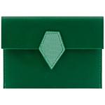 Crivellaro Porte-Passeport Tropicale vert