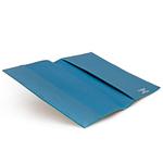 Crivellaro Porte passeport python sable cuir bleu