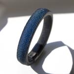 Crivellaro-Bracelet-galuchat-Bleu-5
