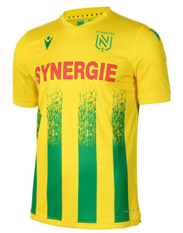 Maillot domicile FC Nantes 2020/21
