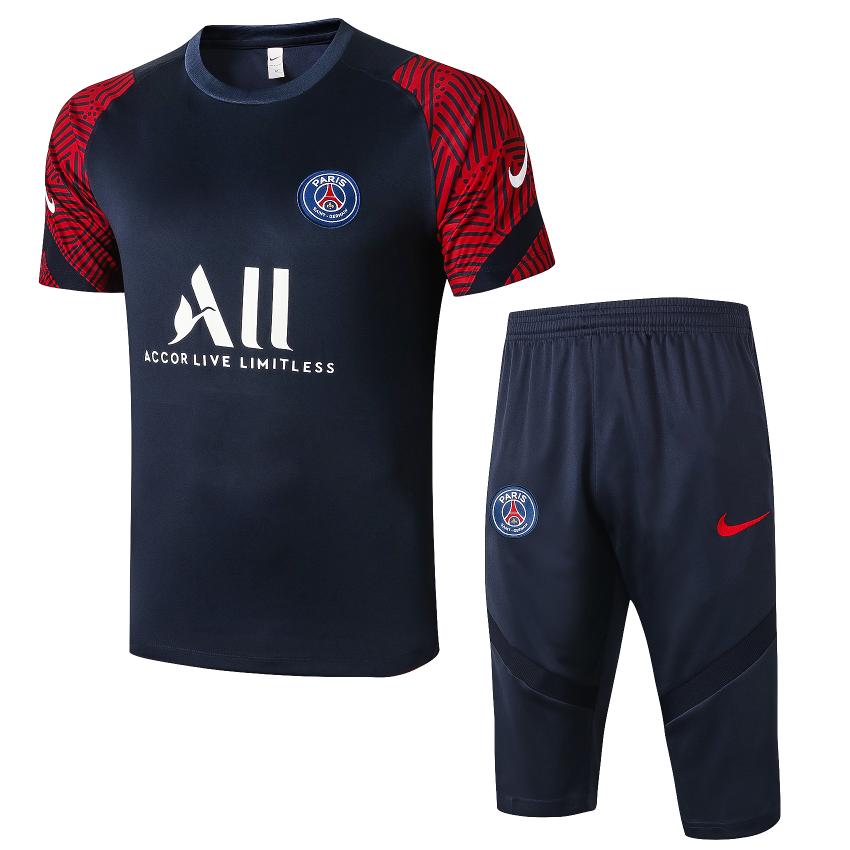 Ensemble Short PSG saison 2020-2021