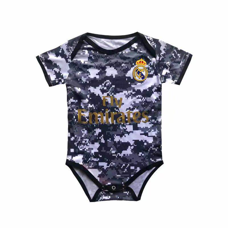 Body Bébé Real Madrid personnalisable
