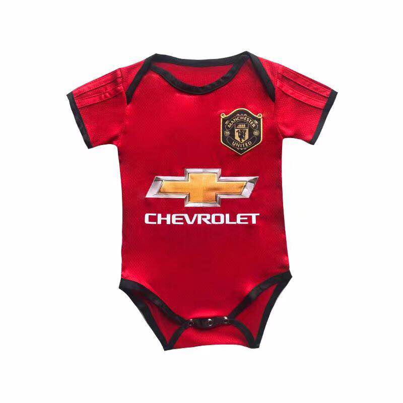 Body Bébé Manchester United personnalisable