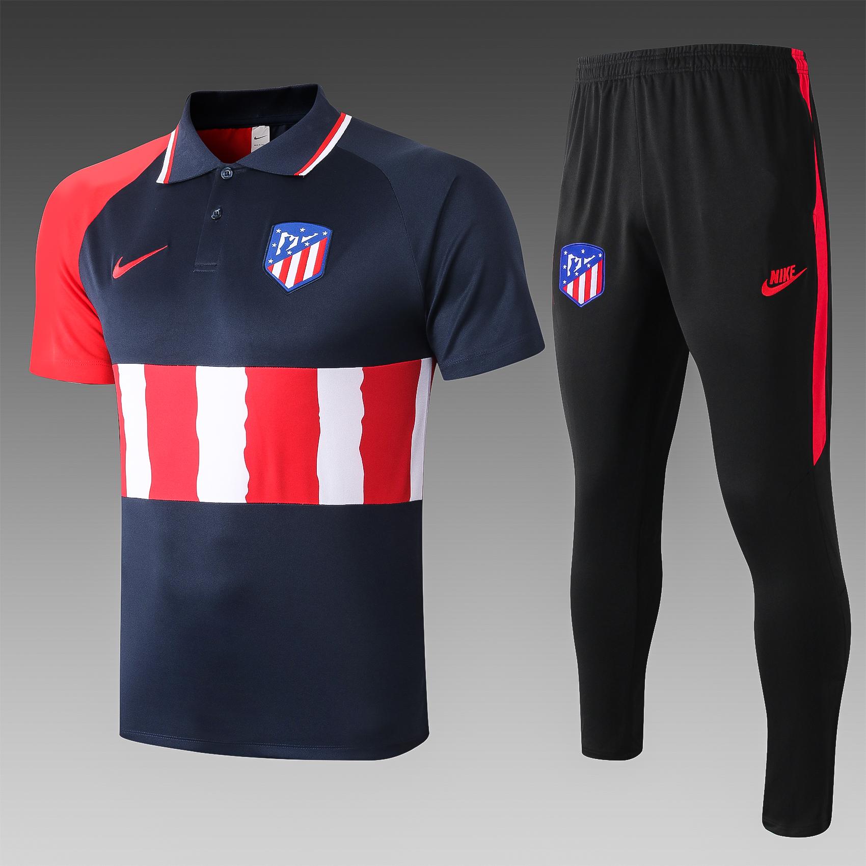 Ensemble polo Atletico Madrid saison 2020-21