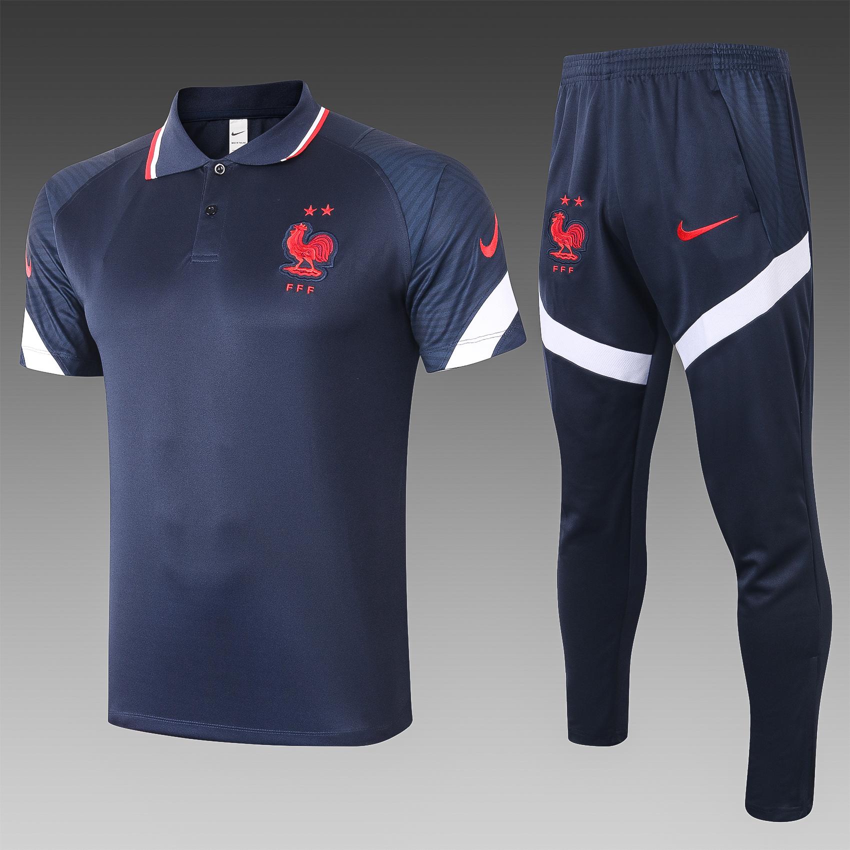 Ensemble polo équipe de France 2020-21
