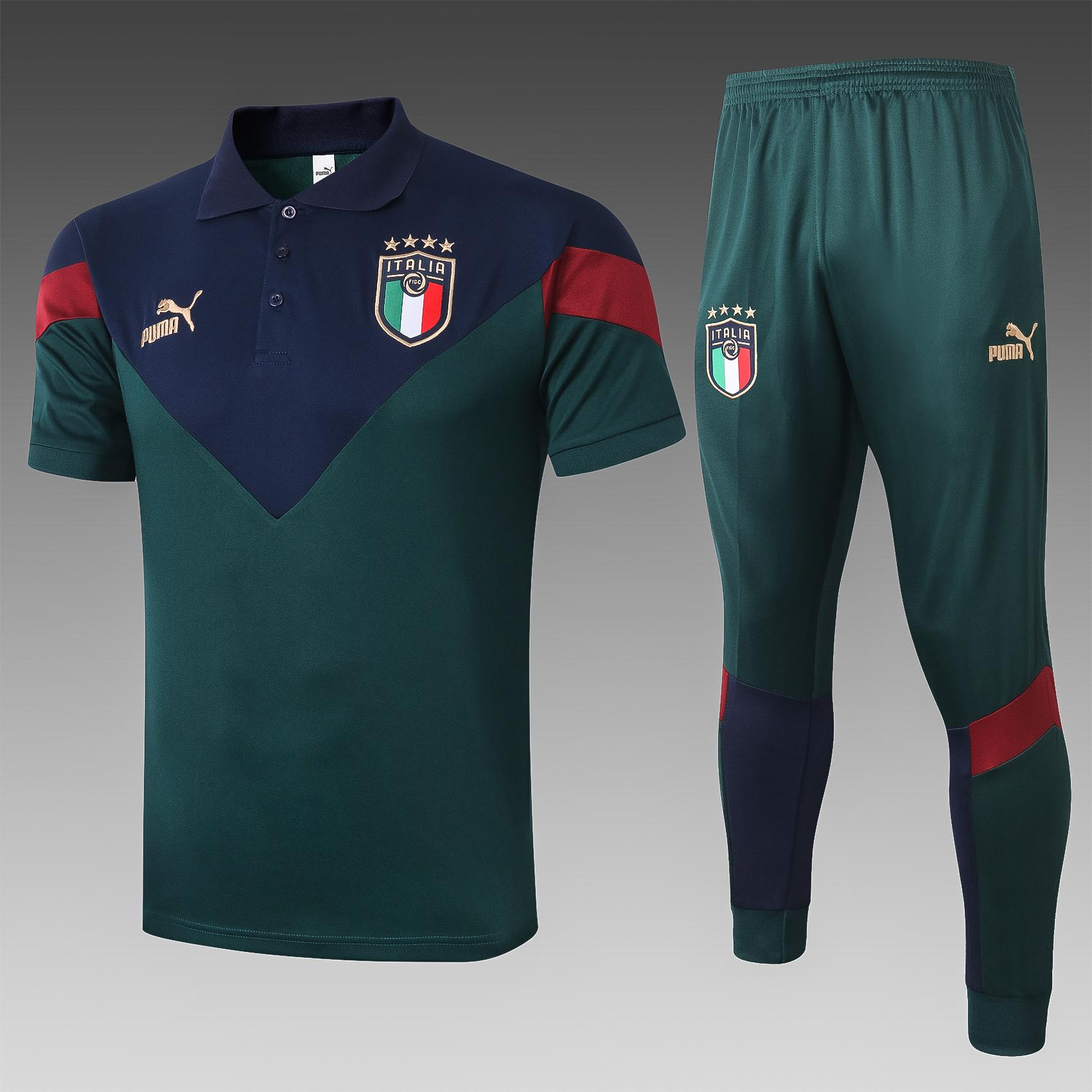 Ensemble polo équipe d\'Italie 2020-21