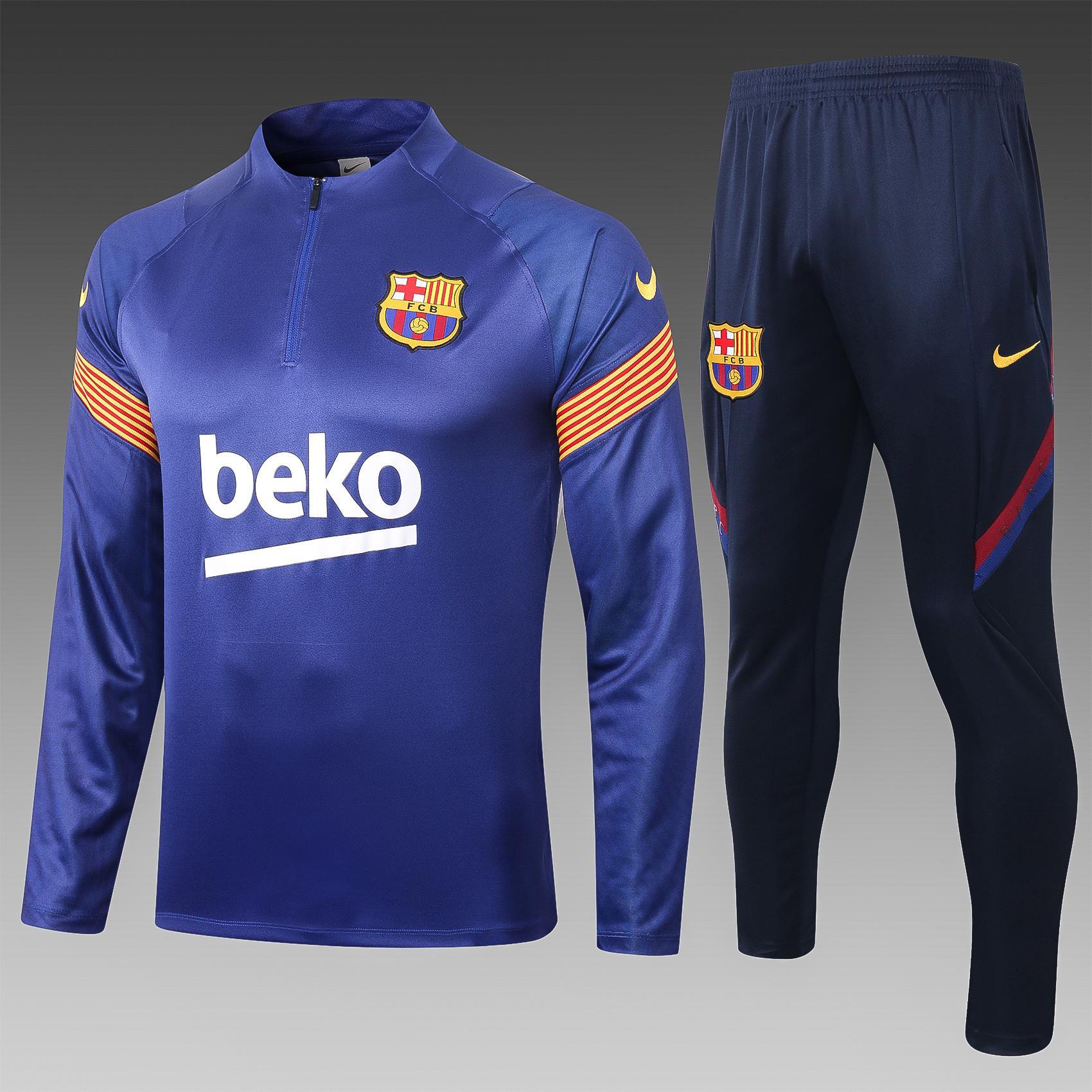 Training FC Barcelone saison 2020-21