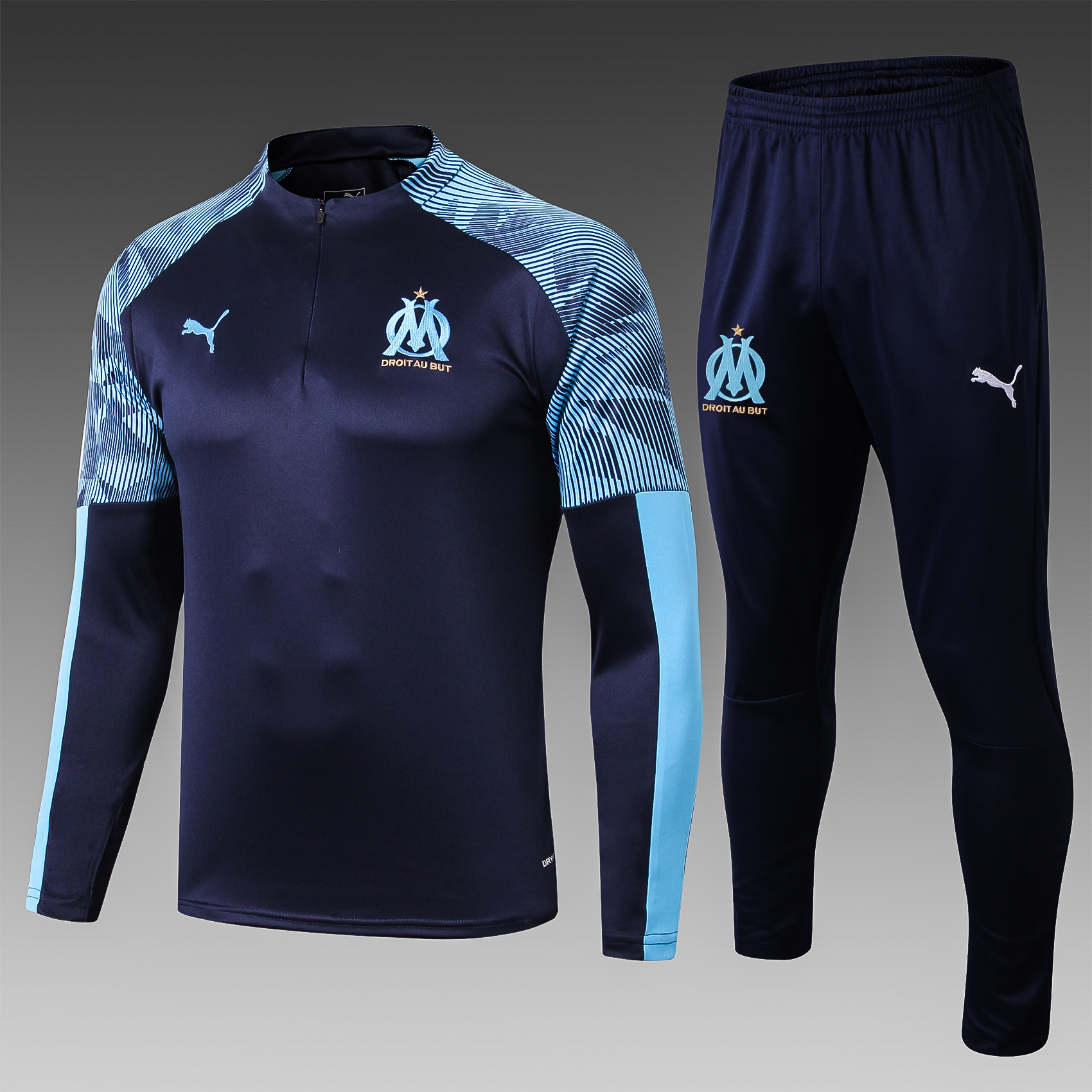 Training Olympique de Marseille saison 2019-2020