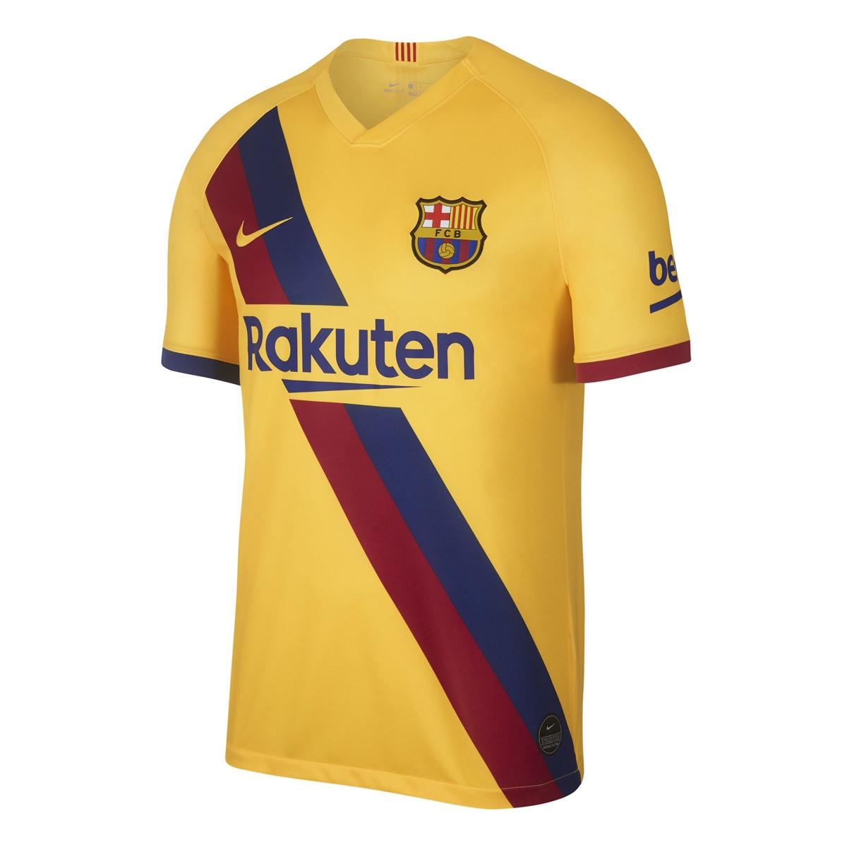 Maillot homme extérieur FC Barcelone 2019-2020 Breath Stadium Nike