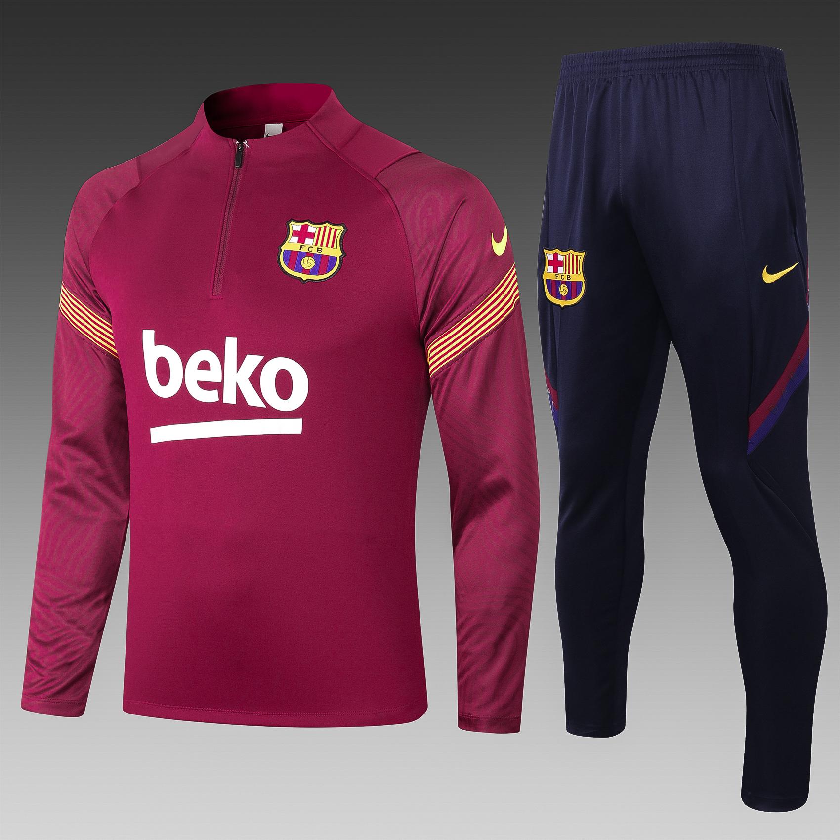 Training FC Barcelone saison 2020-2021