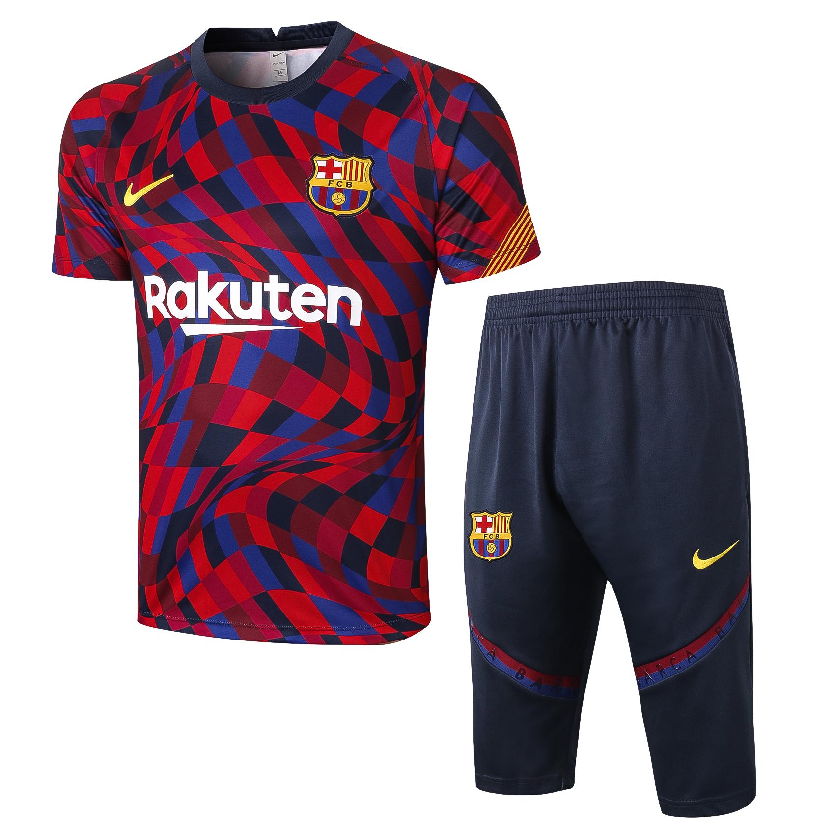 Ensemble Short FC Barcelone saison 2020-2021