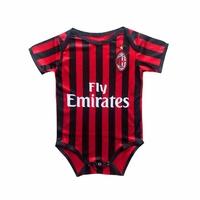 Body Bébé AC Milan personnalisable