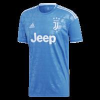 Maillots adidas pour homme, Juventus de Turin lors de la Ligue des champions 2019/20, bleu clair/blanc