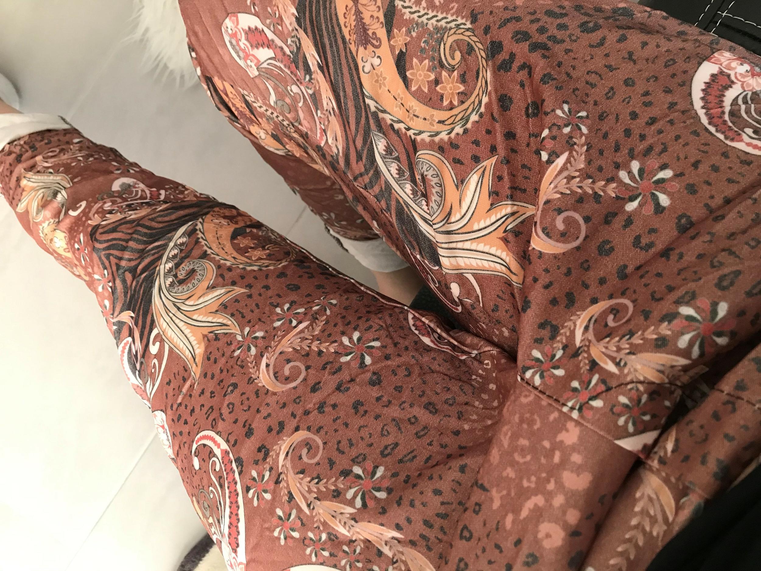 Pantalon Cachemire Camel