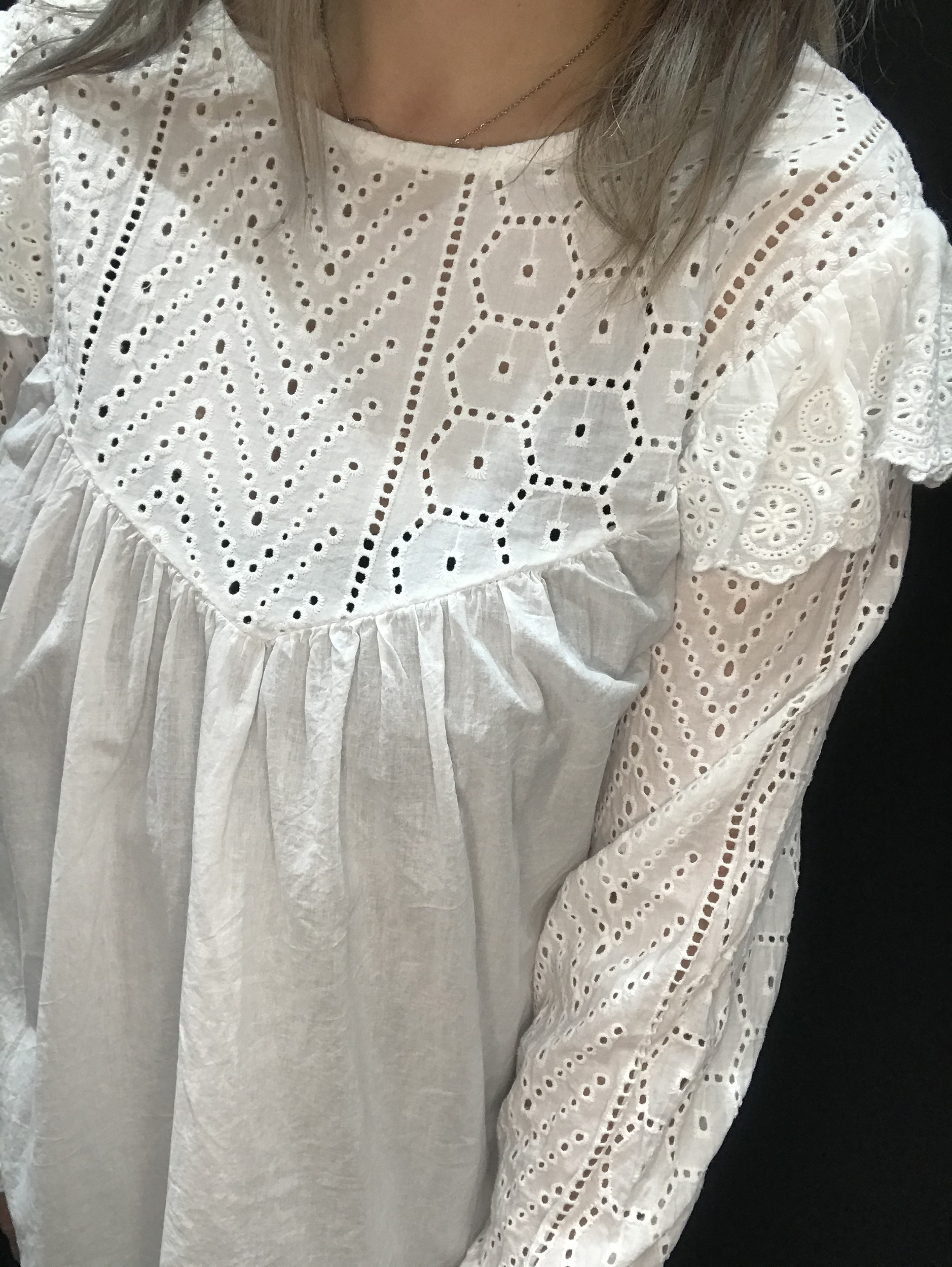 Blouse Brody Blanche