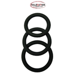 Set 3 CockRings silicone noir - Malesation