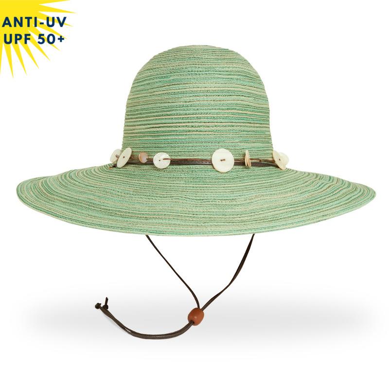Chapeau anti-uv Femme CARIBBEAN Vert pâle UPF50+