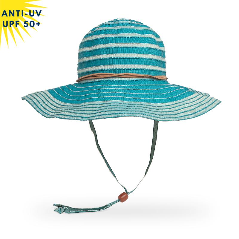 Chapeau anti-uv Femme LANAI - Turquoise | UPF50+