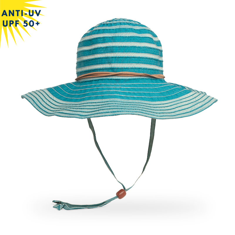 Chapeau anti-uv Femme LANAI Turquoise UPF50+