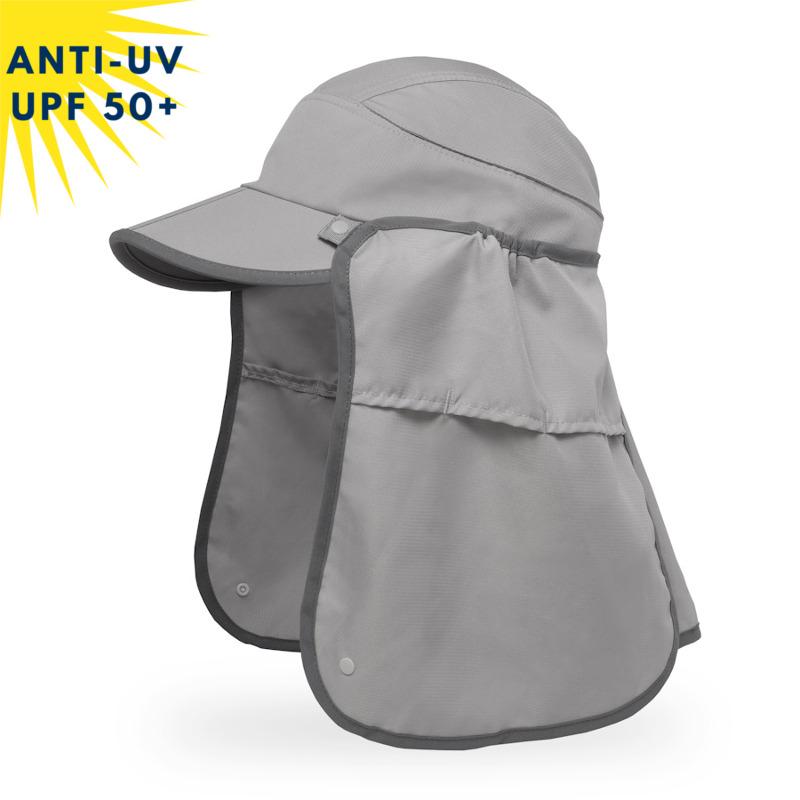 Casquette anti-uv unisexe SUN GUIDE - Granite | UPF50+