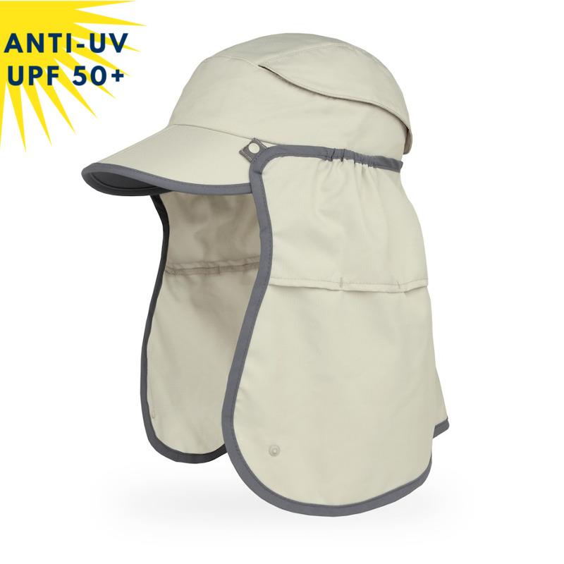 Casquette anti-uv unisexe SUN GUIDE - Beige | UPF50+