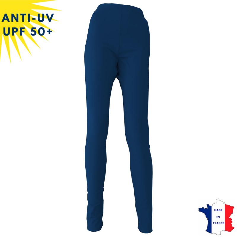 Legging anti-UV Femme Bleu marine UPF50+