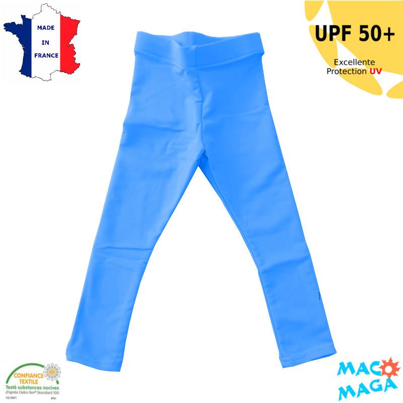 Legging anti-uv Enfant Bleu UPF50+