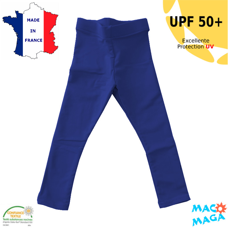 Legging anti-uv Enfant Bleu marine UPF50+