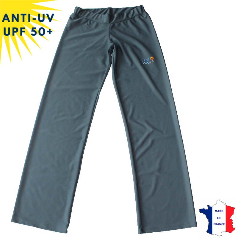 Pantalon anti-uv femme Anthracite UPF50+