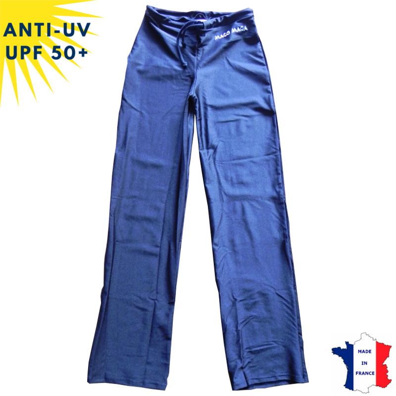 Pantalon anti-uv femme Noir UPF50+