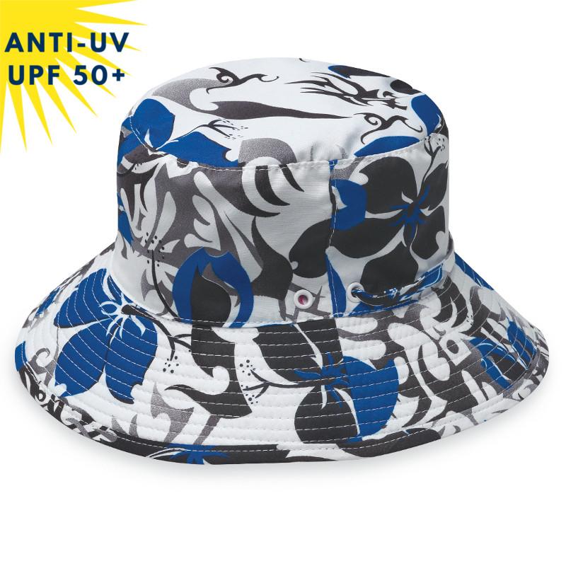 Chapeau anti-uv SURFHAT Bleu / Gris