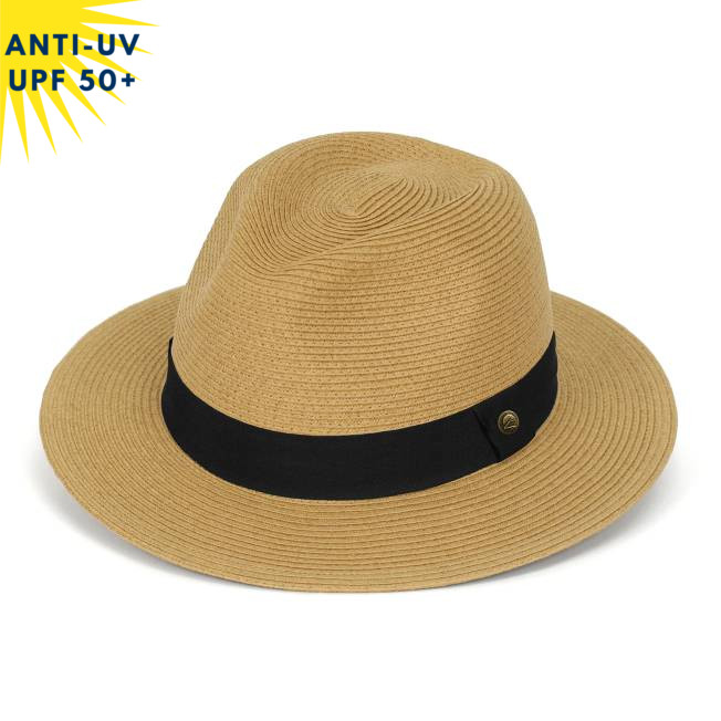 Chapeau anti-uv unisexe HAVANA Camel UPF50+