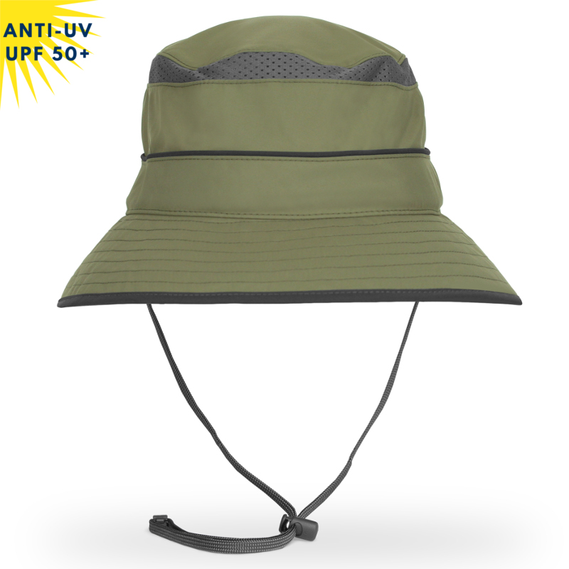 Chapeau anti-uv SOLAR BUCKET - Vert | UPF50+